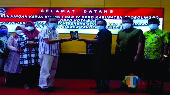 Studi Banding Perkembangan PPKM Mikro dan Wisata, DPRD Probolinggo Kunjungi Kota Blitar
